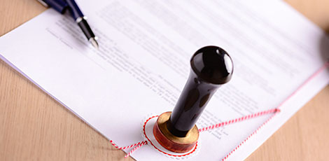 Paralegal Services Notarized Document